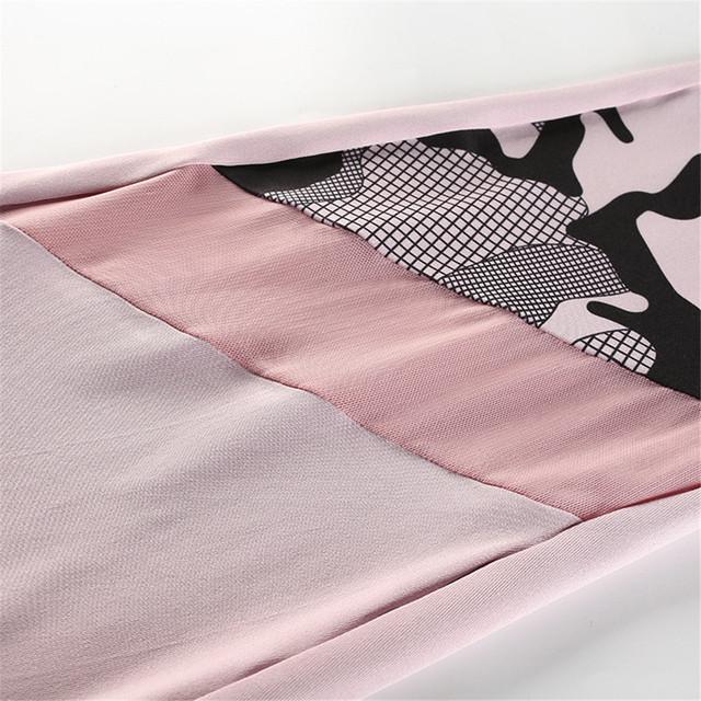 2 Piece Yoga Set Print Tracksuit For Women