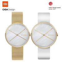Xiaomi CIGA дизайн D009 1A X серии наручные часы в красный горошек дизайн награды для мужчин для женщин часы Творческий водонепроница