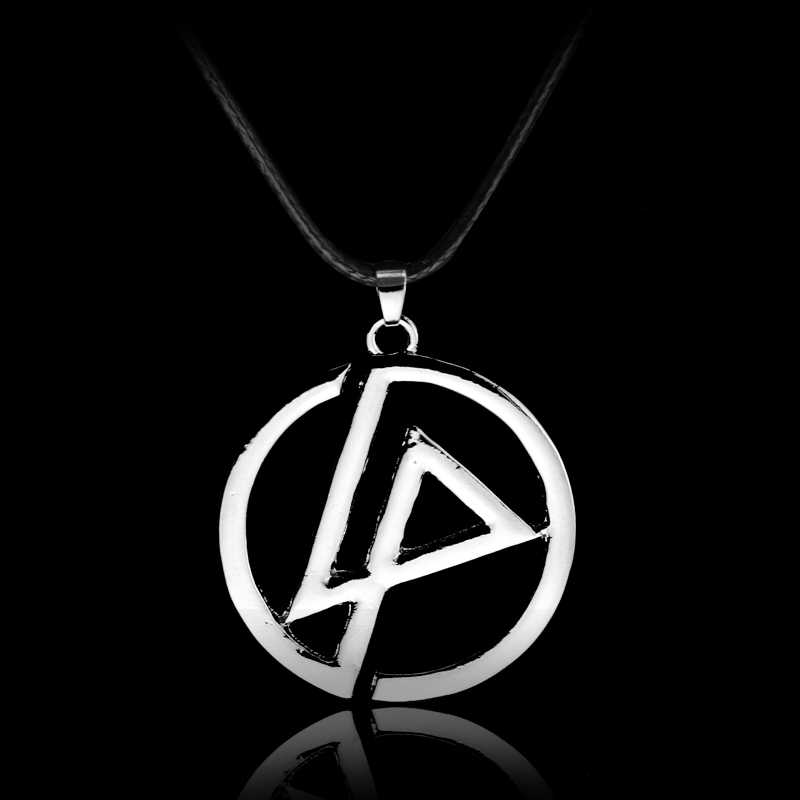 Silver Plated Linkin Park Band Classic Logo Symbol Necklace