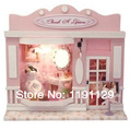 Doll house Birthday gift for kids diy valentine dream house 3D puzzles children toys