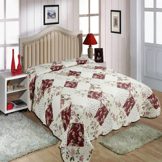 Colcha de patchwork cama párr cachorro cubrecamas cubrecama telas ...