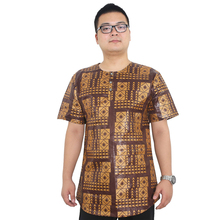 MD african clothes for men plus size print t shirt short sleeve cotton mens tops 2019 fashion shirts
