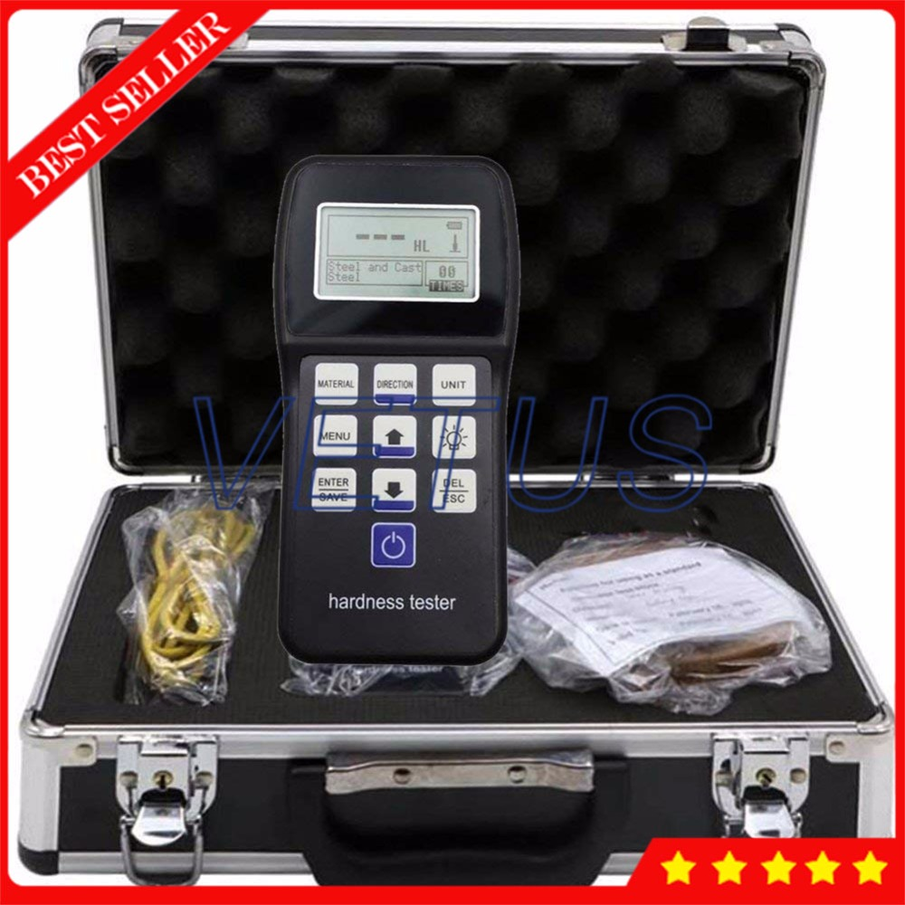 SH-140 Digital Durometer Portable Rebound Leeb Hardness Tester For Metal Steel Measurement