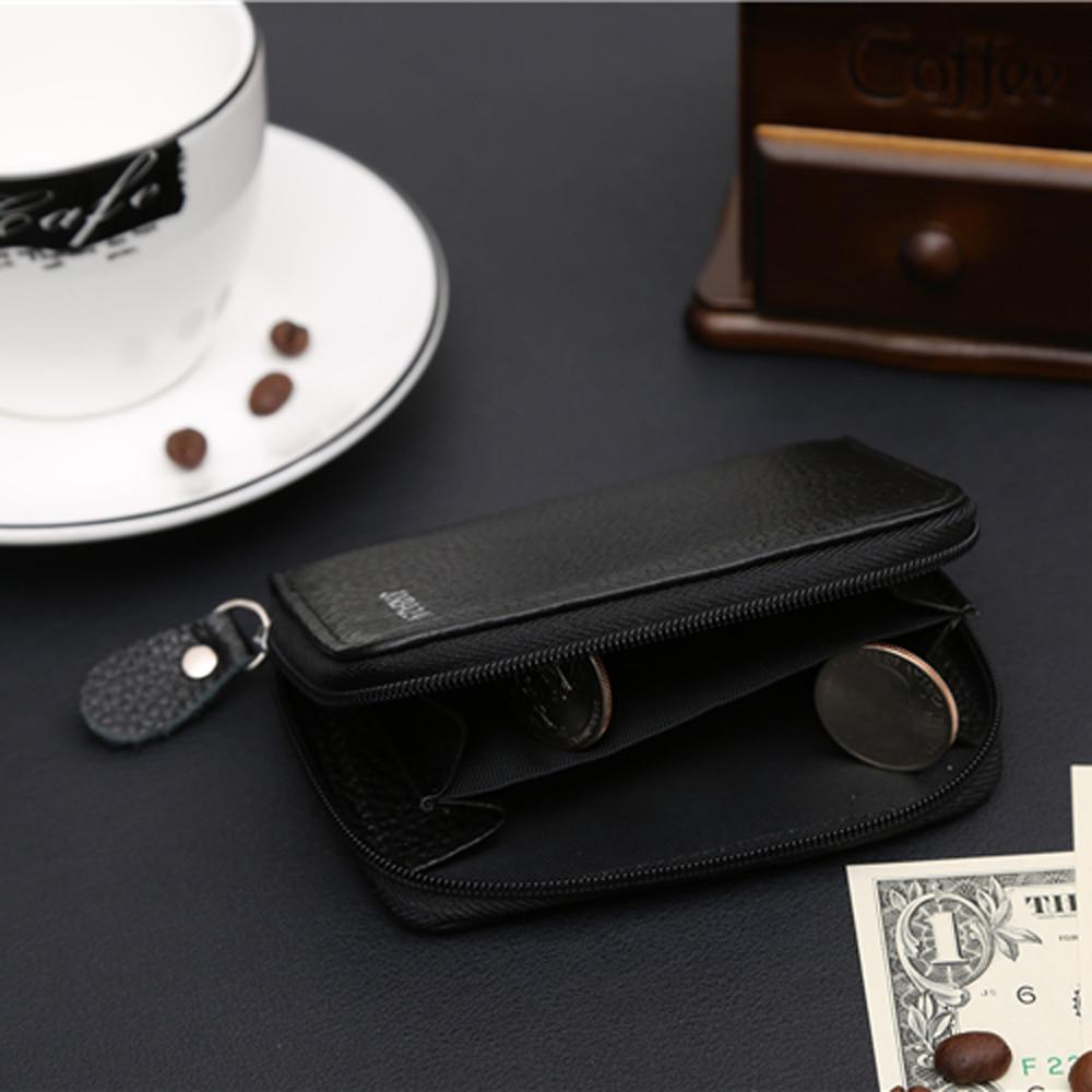 Liten känd märke Handy Portfolio Läder Män Plånbok Handväska - Plånböcker - Foto 3