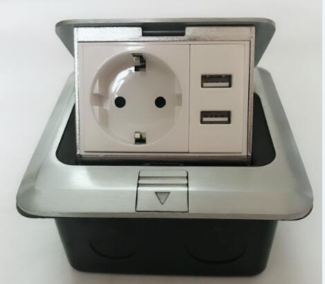 Electrical Floor Sockets Ground Outlet