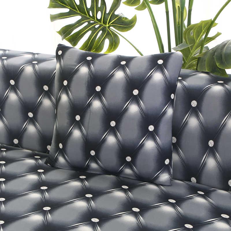 Kanepe kılıfı tekli koltuk slipcovers koltuk dekorasyon elastik spandex oturma odası için kanepe kılıfı streç çiçek baskılı