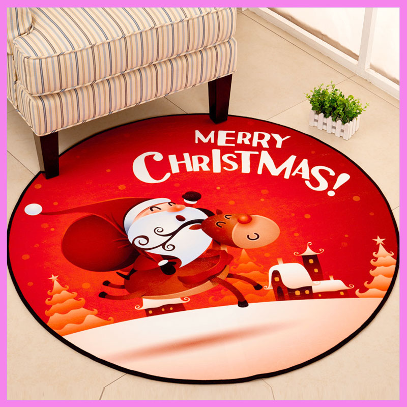 Christmas Baby Kids Crystal Velvet Cartoon Play Mat Baby Gym Activity Crawling Playmat Home Floor Mat Washable Non-slip New Year mulinsen newest 2017 autumn winter men