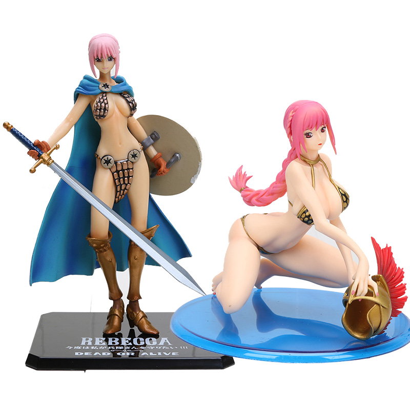 One Piece Rebecca Anime Action Figure Rebecca Swimsuit BB Ver. PVC Brinquedos Figurals Collection Model toy Gift Decoration