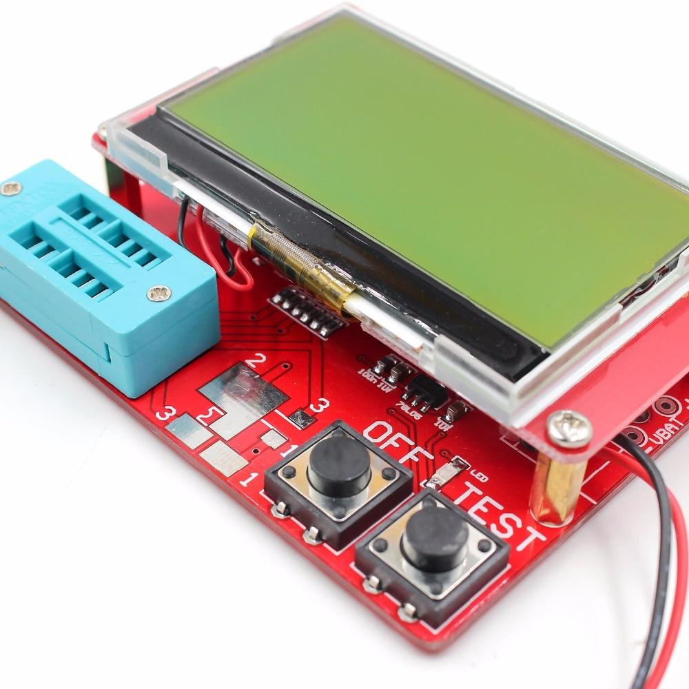 2015 ESR-T4 Mega328 Cyfrowy tester tranzystorów Dioda Pojemność - Przyrządy pomiarowe - Zdjęcie 4