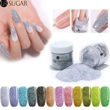 UR SUGAR 30ml Holographic Glitter Dipping Nail Powder Gradient French Dip Natural Dry Without Lamp Cure Decorations