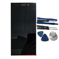 New For Senseit LCD Display FPC HT55057 02 A0 With Touch Screen Digitizer Assembly Replacement With Tools Black Color