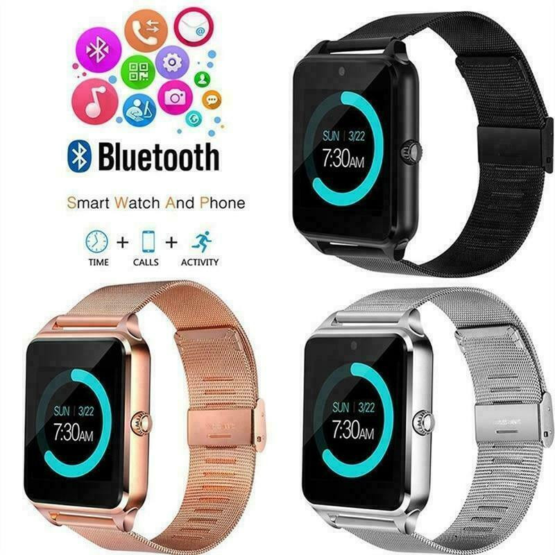 Sport Z60 Bluetooth Smart Watch Heart Rate Blood Pressure Monitor Fitness Activity Tracker GSM SIM Für Android And IPhone
