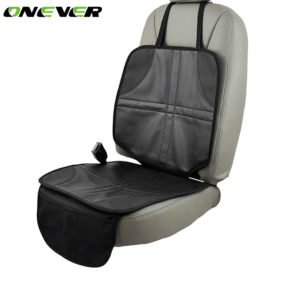 onever auto anti slip car seat protector mat cover for child kids baby install under babys infant safety oxford fabric cover