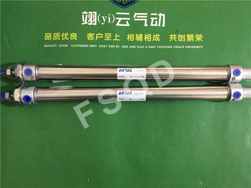 MAC20X225-S-CA MAC20X250-S-CA AIRTAC mini-cylinder aluminum barrel MAC seriesMAC20X225-S-CA MAC20X250-S-CA AIRTAC mini-cylinder aluminum barrel MAC series