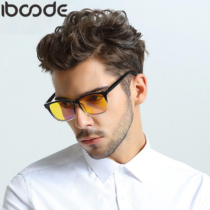 Iboode New Computer Glasses Anti Blue Rays Gaming Eyeglasses Women Men Blue Light Blocking Lenses Optical Frame Retro Spectacles