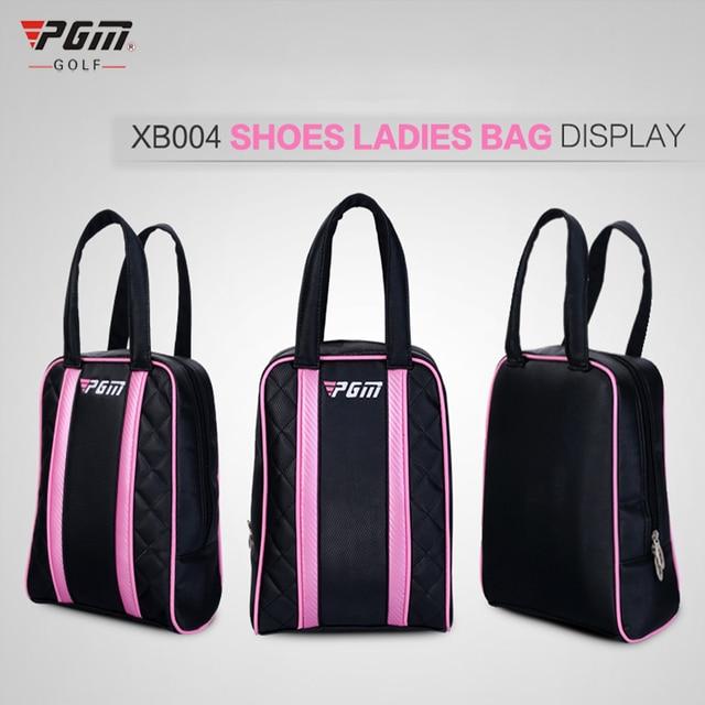 PGM Golf Shoes Bag PU Waterproof Men and Women Golf Travel Bag Rain Cover  China Shoes Golf Ball Outdoor Sports Mini Bags da5ffad14c