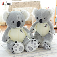 70/90cm New Arrival Super Cute big Koala Bear Plush Toys Adventure Koala Doll Birthday Christmas Gift