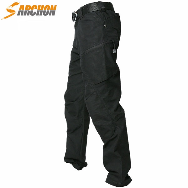Outdoor sports brand hiking pants men Military tactical trousers Hunting fishing trekking women Waterproof Cargo pant