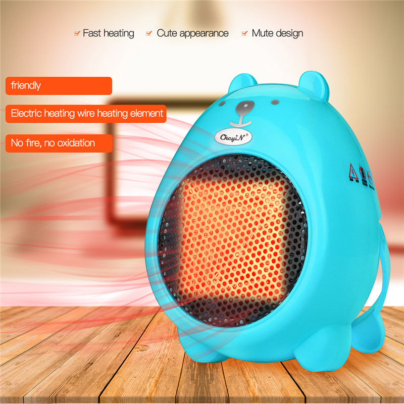 Creative Cute Cartoon Hand Warmer Overheat Protection Electric Heater Mini Winter Fan Dryer Warm Hands For Home Office Desktop dmwd mini portable fan heater hand electric air warmer heating winter keep warm desk fan for office home 50w overheat protection