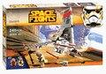 Star Wars T-16 Skyhopper espacio de combate de Juguete montaje de bloques de construcción de juguete 246 UNIDS con lepin 75081