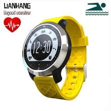 Deporte de la natación impermeable Bluetooth Smartwatch F69 inteligentes pulsómetro relojes para Apple iPhone Android reloj pulsómetro