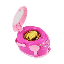 Children Kid Boy Girl Mini Kitchen Household Electrical Appliance Dummy Cooking Pretended Play Rice Cooker Toy Set
