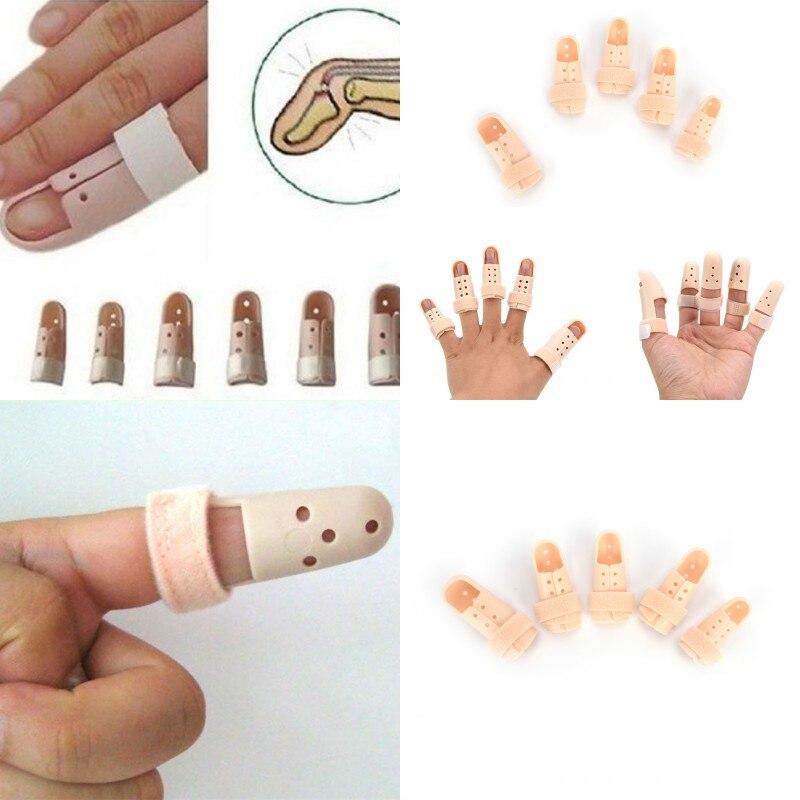 Adjustable Finger Splint Brace Trigger Finger Support Fracture Fix Arthritis Pain Relief Hand Protector Finger Brace Supports