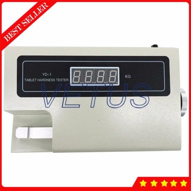 YD-1 Tablet Hardness Tester Meter Physical Measuring Instrument Display N or Kg