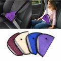 Kids Baby Children Seat Safety Belts Anti le neck  Triangle Durable Colorful   Fixer Adjuster Clip Booster Strap Harness  In Car