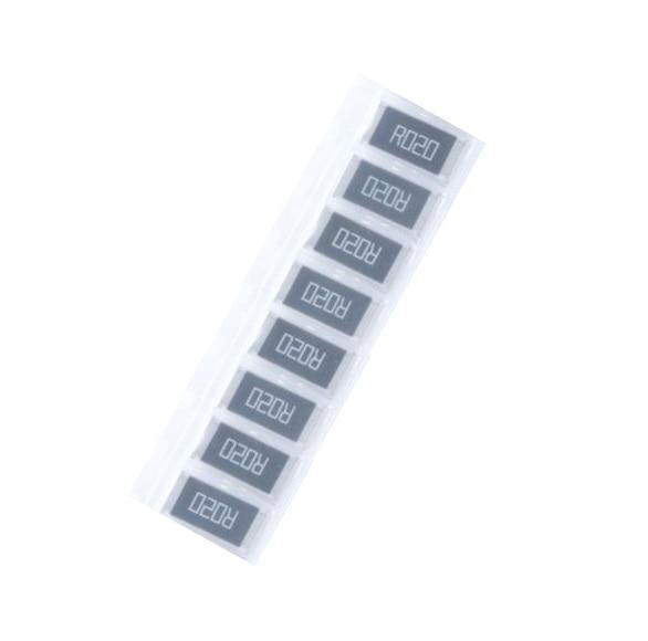 50 pcs 2512 SMD Resistor 1W 0.02 ohm 0.02R R020 1% 2512 Chip Resistor High Precision цена 2017