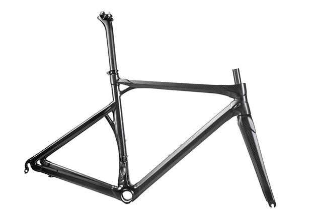LN 01 Full carbon road frame 3K glossy/matte black road bike frame ...