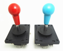 2 pcs/lot red or blue quality and durable 4way 8way joystick adjustable  with 4 zippy microswitch, arcade machine part