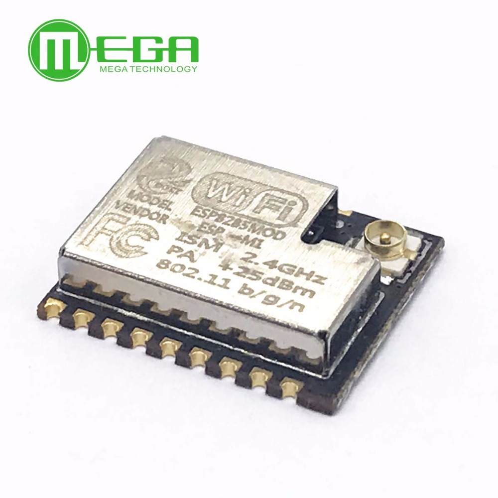 ESP-M1 ESP8285 <font><b>ESP8266</b></font> 1M Flash Chip Wifi Wireless Module Serial Port Ultra Transmission With <font><b>External</b></font> <font><b>Antenna</b></font> Interface FZ2735 image