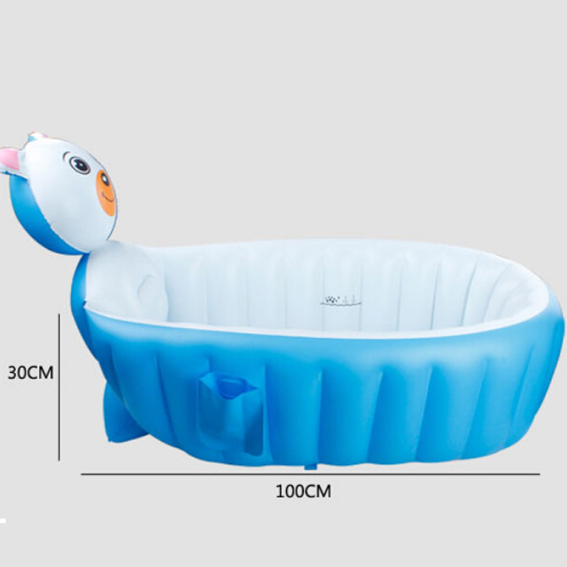 Bath Shower Products Baby Tubs Portable Inflatable Baby Bathtub ...