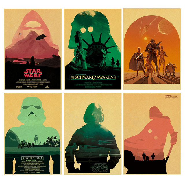 Star Wars poster. New hope the Force Awakening .Rogue one.The ...