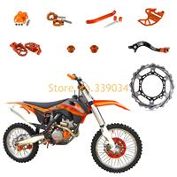 Motocycle CNC High Strength Full Eye Catching Parts For KTM 250 EXC F XCF W SX