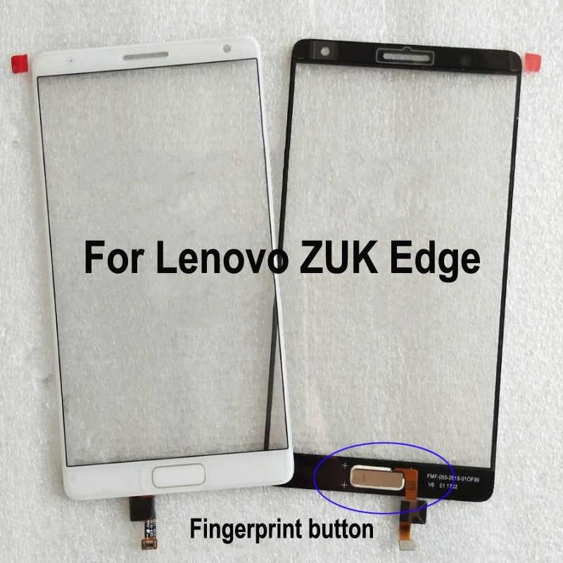 5.5'' For Lenovo ZUK Edge ZUKEdge Touch Screen Glass Digitizer Panel Front Glass Sensor LenovoZUKEdge With Flex Cable