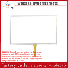 Nueva 5 pulgadas de navegador WayteQ x960BT Panel de la Pantalla táctil de la pantalla táctil de Cristal Digitalizador 117*73 MM Reemplazo Envío Gratis