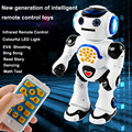 Multi-function remote control intelligent robot voice in English to sing and dance storytelling paternity toys