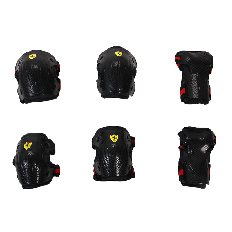 Sports Safety Set Knee Pads Elbow Pads Wrist Protector Kneepads Protection for Scooter Cycling Roller Skating (7)