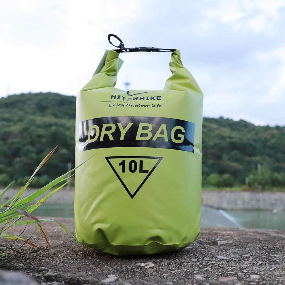 Новый HITORHIKE 10L Профессиональный Водонепроницаемый сухой мешок Кемпинг лодки Каякинг рафтинг каноэ сумки для плавания рюкзак материал