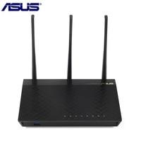 Original ASUS RT AC66U B1 Dual band WiFi Router Wireless AC1750 4 port Gigabit Router IEEE 802.11ac/a/b/n