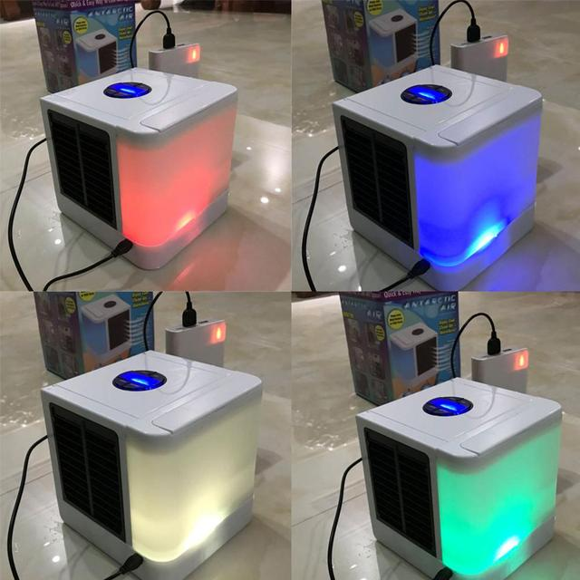 3 In 1 USB Portable Air Conditioner Humidifier Air Purifier Air Cooler Mini Fans Personal Space Air Conditioner Device  4