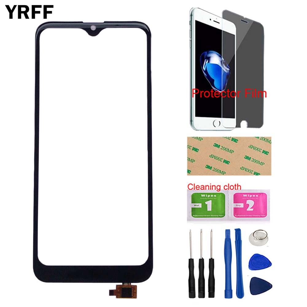 Touch Screen Panel For Doogee Y8 Y 8 Touch Screen Digitizer Panel Front Glass Len Sensor TouchScreen Tools Protector Film Wipes