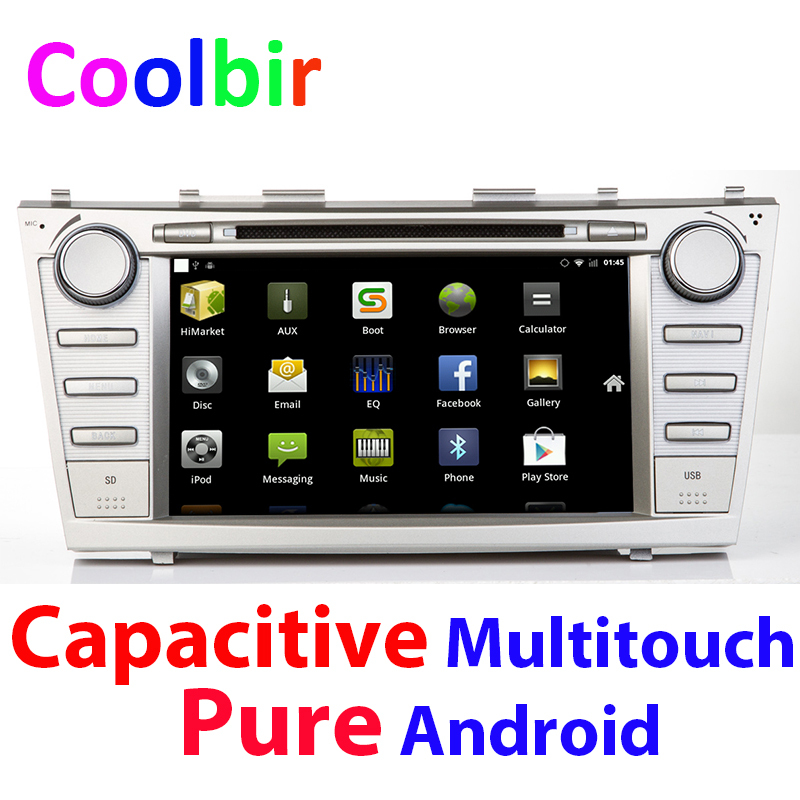 toyota camry pure android capacitive 8inch screen 3g wifi autoradio dvd playe. Black Bedroom Furniture Sets. Home Design Ideas