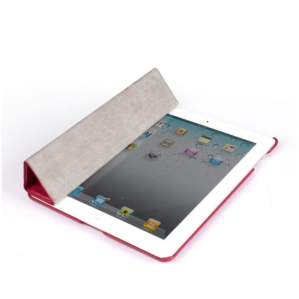 Jisoncase Brand Case För iPad 2 3 4 PU Läder Skyddsväska Smart - Surfplatta tillbehör - Foto 6