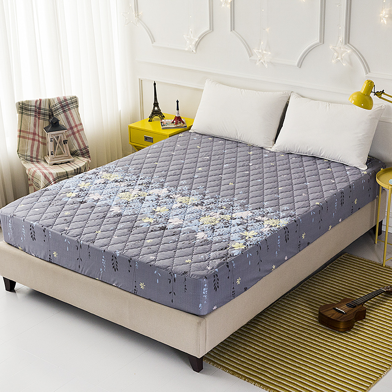 High-end new waterproof fitted sheet multi-dimensional stretch mattress cover 160 * 200cm a variety of specifications