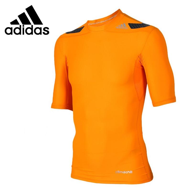 Оригинал Adidas мужские футболки с коротким рукавом спортивная