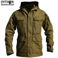 M65 UK US Army Clothes Casual Tactical Windbreaker Men Winter Autumn Thermal Flight Pilot Coat Male Hoodie Military Field Jacket