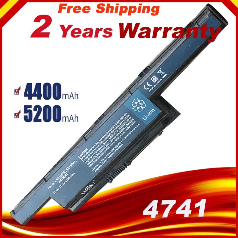 Battery AS10D31 AS10D51 AS10D61 AS10D71 AS10D75 For Acer Aspire 5741G 7551 5736ZG 5750 5750G 5750TG 5750Z 5750ZG 5755